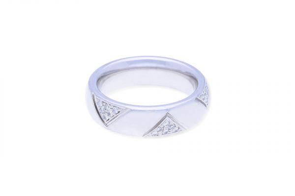 Ring 585 Weißgold • Brillanten