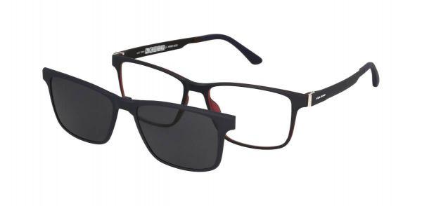 Solano Brille CL90115 C mit polarisiertem Magnet Sonnenclip