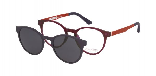 Solano Kinderbrille CL90055 E mit polarisiertem Magnet Sonnenclip