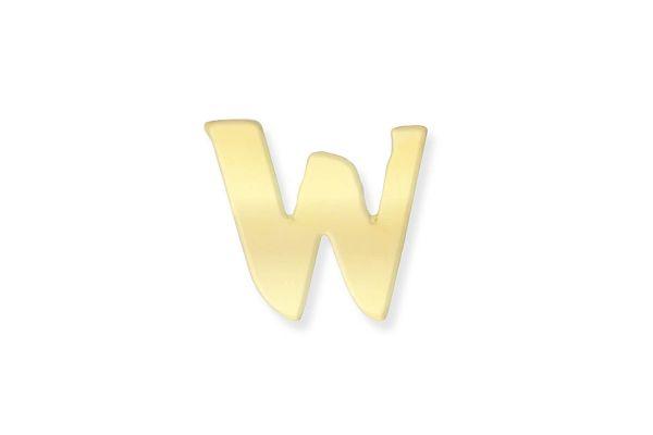 333 Gold Anhänger Buchstabe W