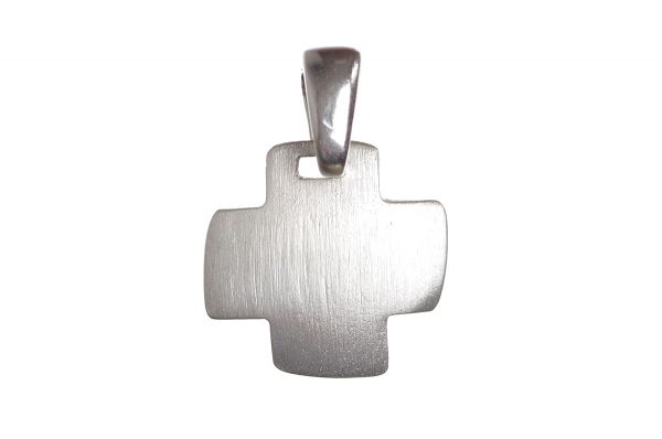 925 Silber Kreuz Anhänger