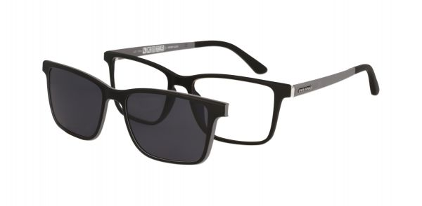 Solano Brille CL30017 F mit polarisiertem Magnet Sonnenclip