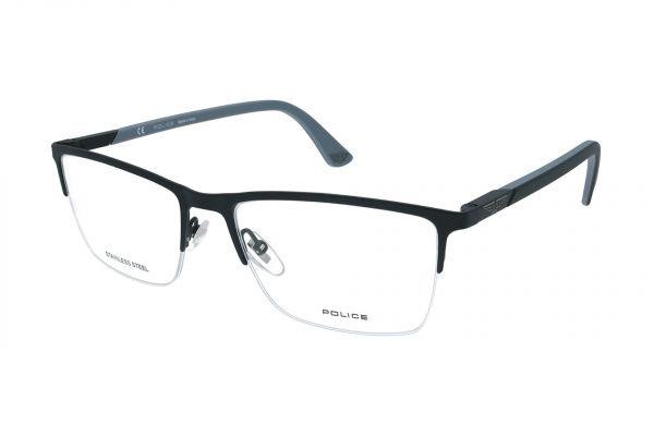 Police Halbrandbrille DUEL 1 VPLB54 0S08