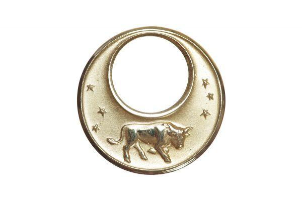 Sternzeichen Stier - Anhänger 333 Gelbgold