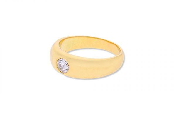 Ring 585 Gelbgold • Brillant 0,25ct