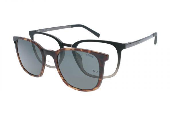 Sting Brille mit Magnet-Sonnenclip - VST350 0WT5