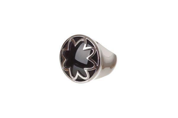 Bastian Ring 925 Silber mit Onyx