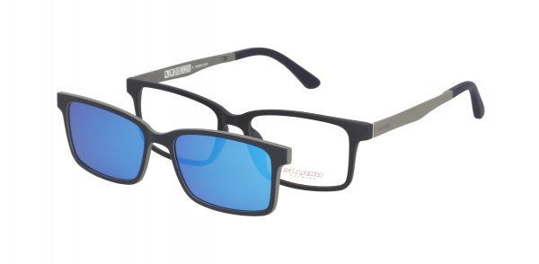 Solano Brille CL90045 H mit polarisiertem Magnet Sonnenclip