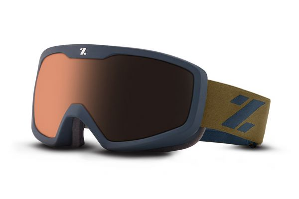 Zeal Skibrille Tramline 10483 Oxford Navy - Polarized Automatic - Größe M