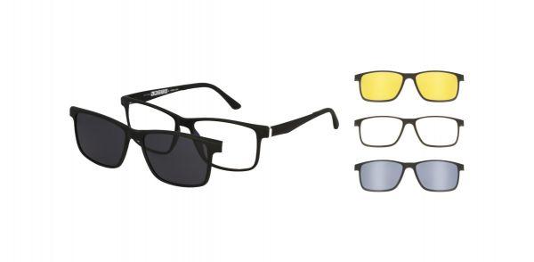 Spar-Set Solano Brille CL90100 C mit VIER Magnet Sonnenclips