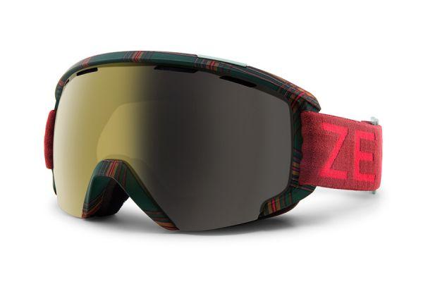 Zeal Skibrille Slate 11129 Highland Tartan - Polarized Automatic+ - Größe M
