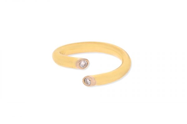 Ring 585 Gelbgold • Brillanten