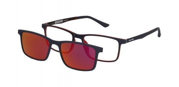 Solano Brille CL90122 B mit polarisiertem Magnet Sonnenclip