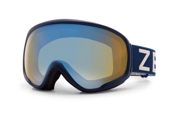 Zeal Skibrille Forecast 10807 Oxford Navy - Polarized Bluebird HT - Größe M