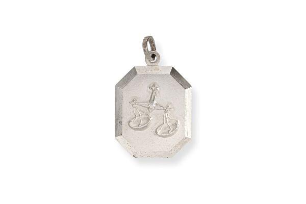 Sternzeichen Waage - Anhänger 925 Silber