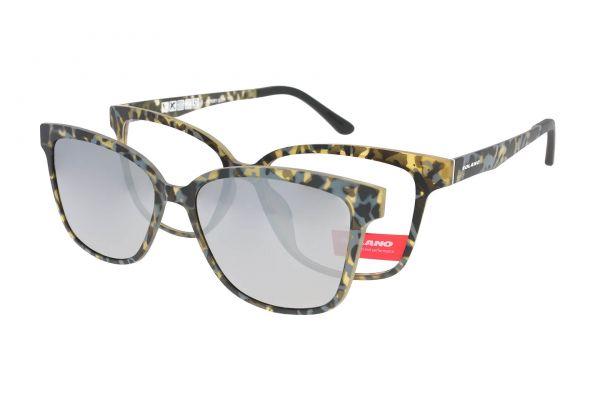 Solano Brille CL90078 E mit polarisiertem Magnet Sonnenclip • Seitenansicht