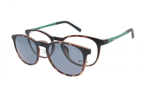 Sting Kinderbrille mit Magnet-Sonnenclip - VSJ665 0878