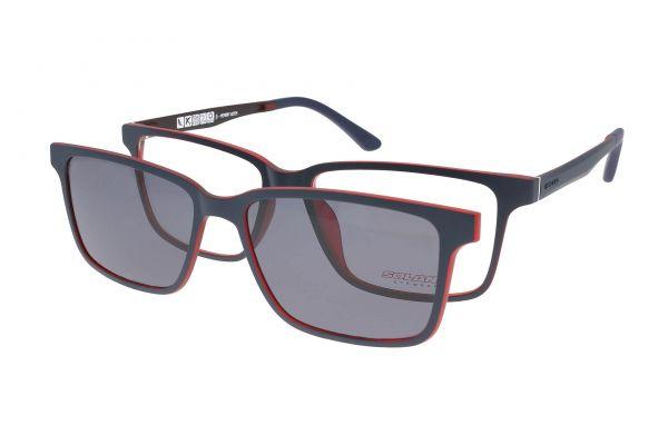 Solano Brille CL90050 C mit polarisiertem Magnet Sonnenclip