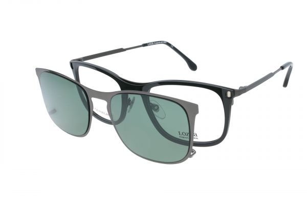 Lozza Brille Pavia 6 VL2375 0700 mit Magnet-Sonnenclip