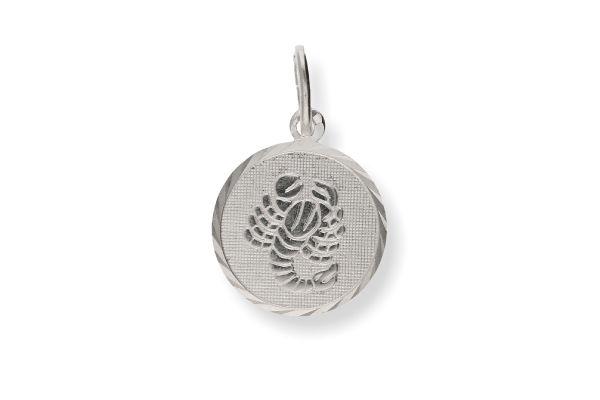 Sternzeichen Skorpion - Anhänger 925 Silber