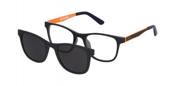 Solano Jugendbrille CL90111 B mit polarisiertem Magnet Sonnenclip