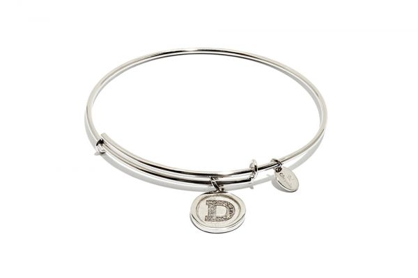 Chrysalis Bangle Initials - Silber D