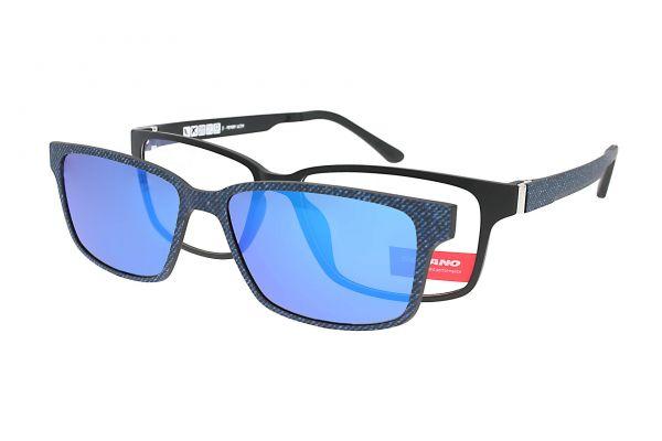 Solano Brille CL90086 D mit polarisiertem Magnet Sonnenclip