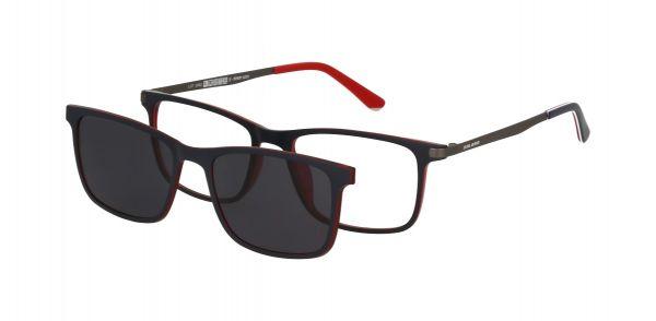 Solano Brille CL90103 E mit polarisiertem Magnet Sonnenclip