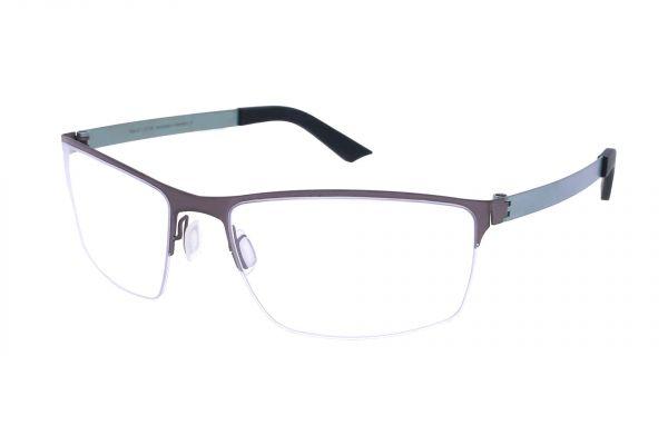 Grafix Brille Jules 07 mit gebogenen Gläsern • Titan