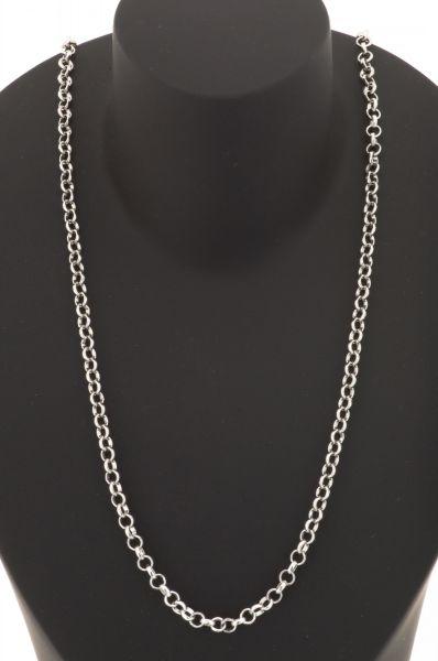 Gerry Eder 925 Silber Trachten Collier 45 cm