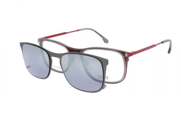 Lozza Brille Pavia 6 VL2375 06A7 mit Magnet-Sonnenclip