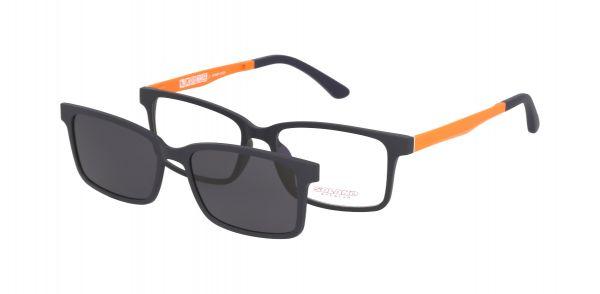 Solano Brille CL90045 I mit polarisiertem Magnet Sonnenclip