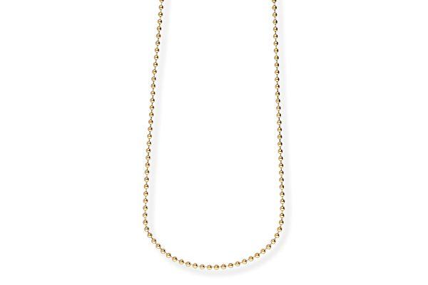 Blumenkind Halskette SC073G80 aus 316L Edelstahl - 80 cm