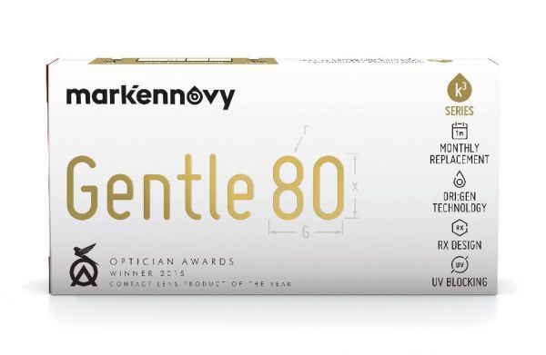 mark'ennovy Gentle 80 Kontaktlinsen - Sphärisch 3 St.