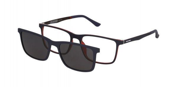 Solano Brille CL90126 B mit polarisiertem Magnet Sonnenclip