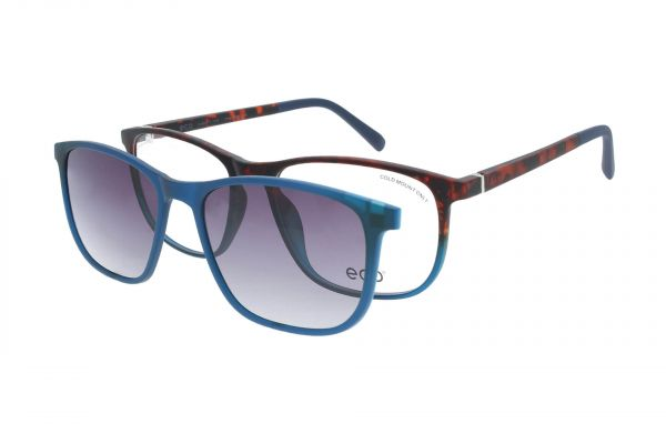 ECO Brille Columbia TBGD mit Magnet-Sonnenclip