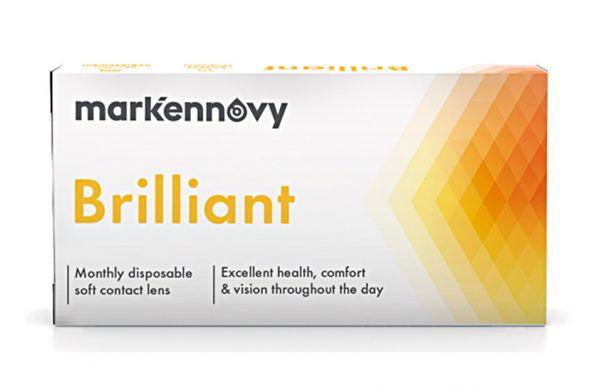 mark'ennovy Brilliant Kontaktlinsen - Torisch 6 St.
