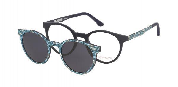 Solano Brille CL90048 G mit polarisiertem Magnet Sonnenclip
