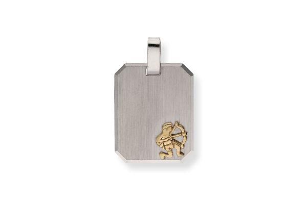 Sternzeichen Schütze - Anhänger 925 Silber vergoldet