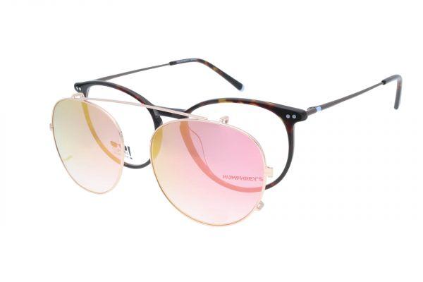 Humphrey's Brille mit Sonnenclip 581069 60