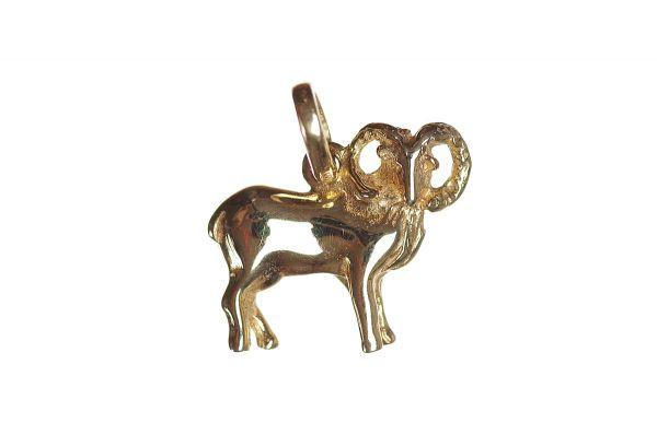 Sternzeichen Widder - Anhänger 333 Gold