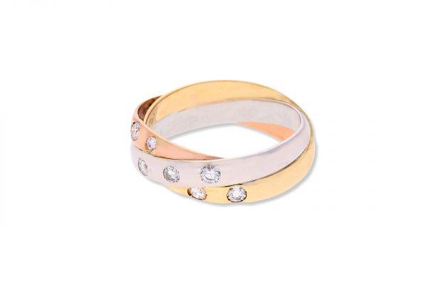 Ring 585 Gelbgold • Rotgold • Weißgold • Brillant