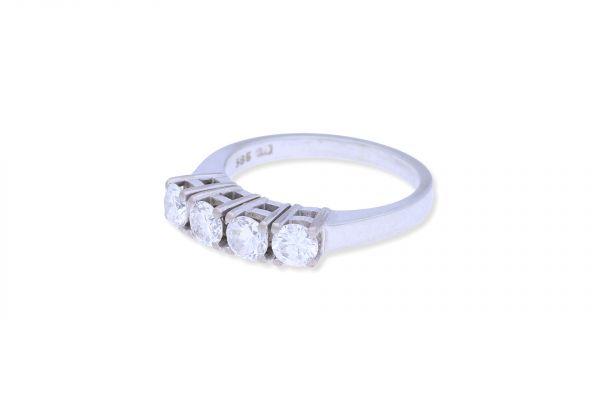 Ring 585 Weißgold • Brillanten 1ct.