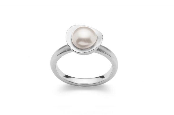 Bastian Ring 925 Silber mit Perlen 28181