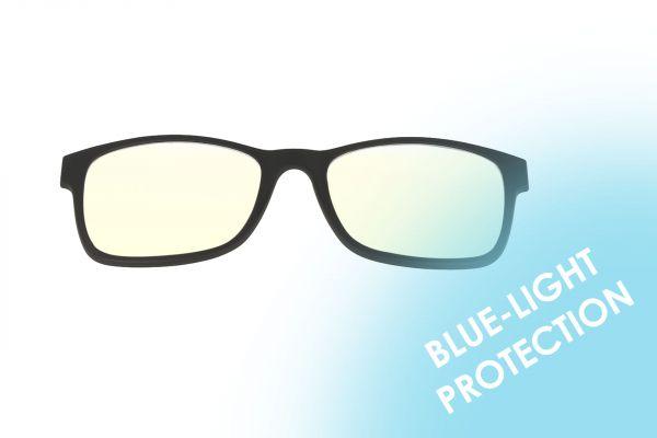 Solano Zusatz Magnet-Clip • Blaulichtfilter - Blue-Protection