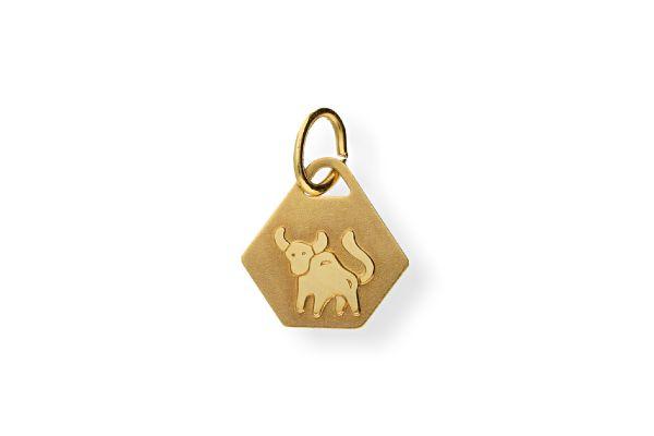 Sternzeichen Stier - Anhänger 333 Gold