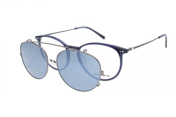 Humphrey's Brille mit Sonnenclip 581069 73