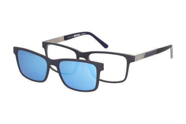 Solano Brille CL90104 D mit polarisiertem Magnet Sonnenclip