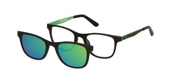 Solano Jugendbrille CL90111 D mit polarisiertem Magnet Sonnenclip