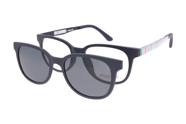 Solano Brille CL90054 E mit polarisiertem Magnet Sonnenclip • Seitenansicht